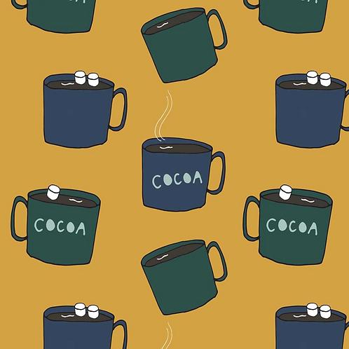 Cocoa Cup Bib