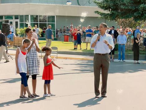 Butte Civic Center Obama Visit