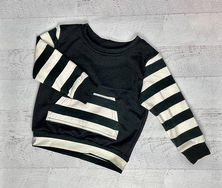 Bold Stripe Crew Sweatshirt