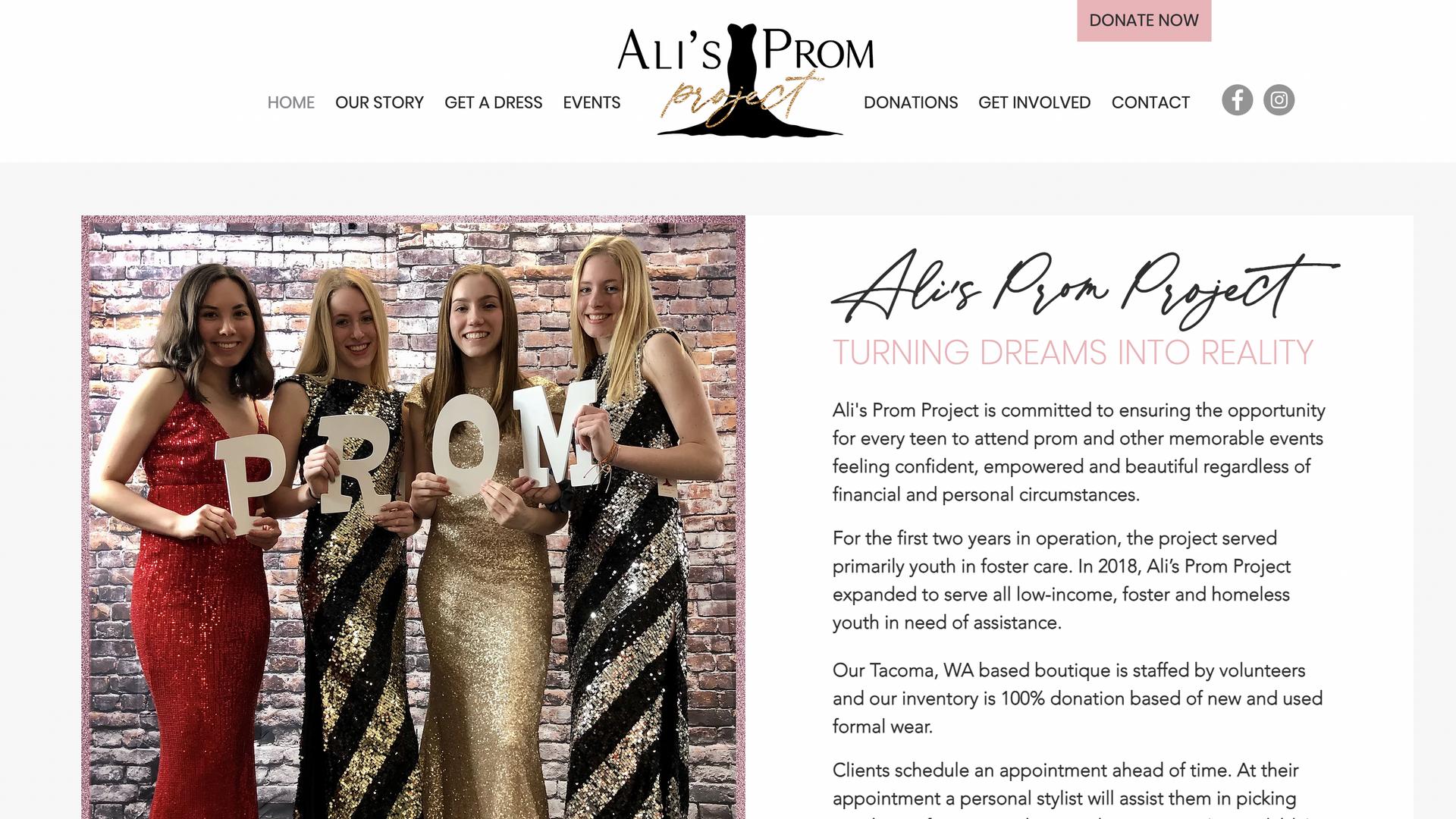 Ali's Prom Project