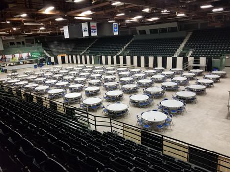 Banquet Rounds, Butte Civic Center