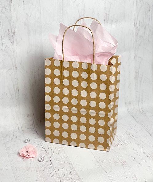 Kraft Gift Bag & Tissue Paper