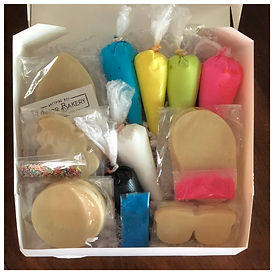 DIY Cookie Kit, Minor Bakery
