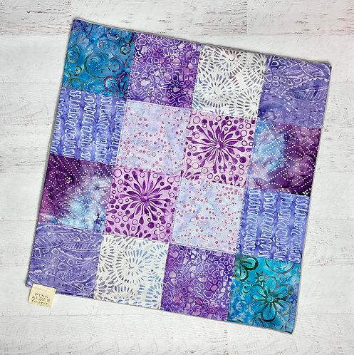 Purple Mini Baby Quilt