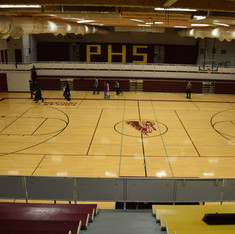 Poplar High School Gym