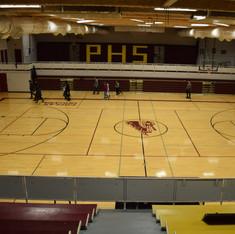 Poplar High School Gym