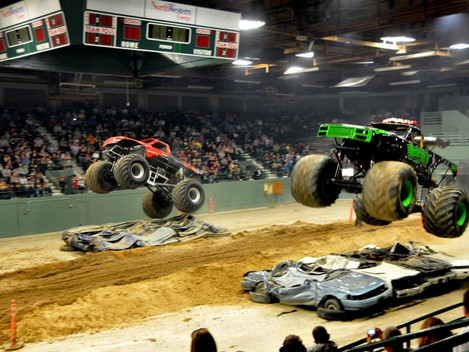Butte Civic Center Monster Truck