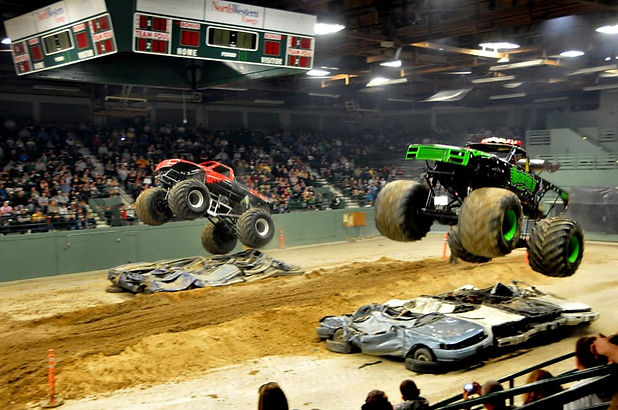 Butte Civic Center Monster Truck Event