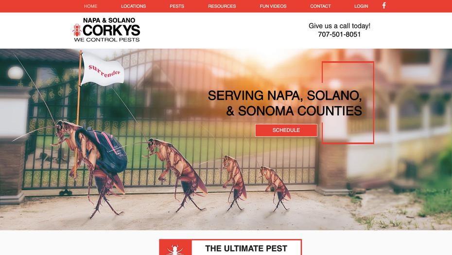 Corky's Pest Control Napa