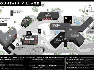 Mountain Village Map