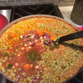 Bison Veggie Soup