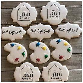 Logo Custom Cookies, Minor Bakery