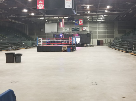 Boxing Ring, Butte Civic Center