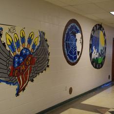 Poplar Middle School Wall Art