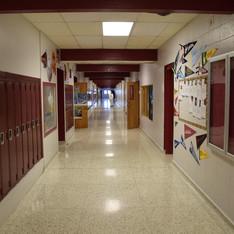 Poplar High School Hall
