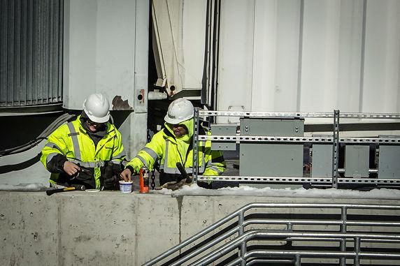 Airport Sky Bridge Construction