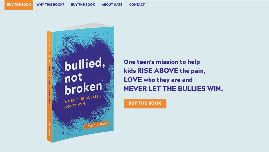 Bullied Not Broken by Nate Neustadt