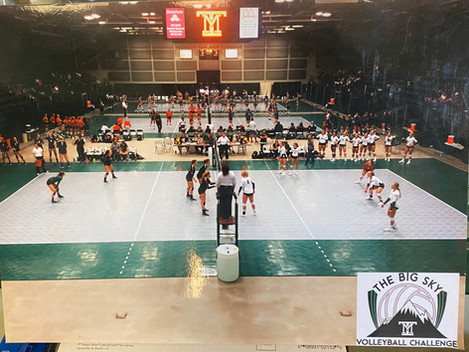 Volleyball, Butte Civic Center