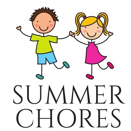 Summer Chore List