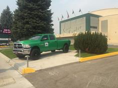 Car Pad, Butte Civic Center