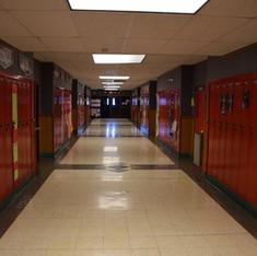 Poplar Middle School Hall