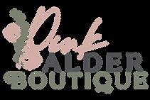 Pink Alder Boutique Logo