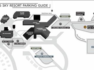 Big Sky Parking Map