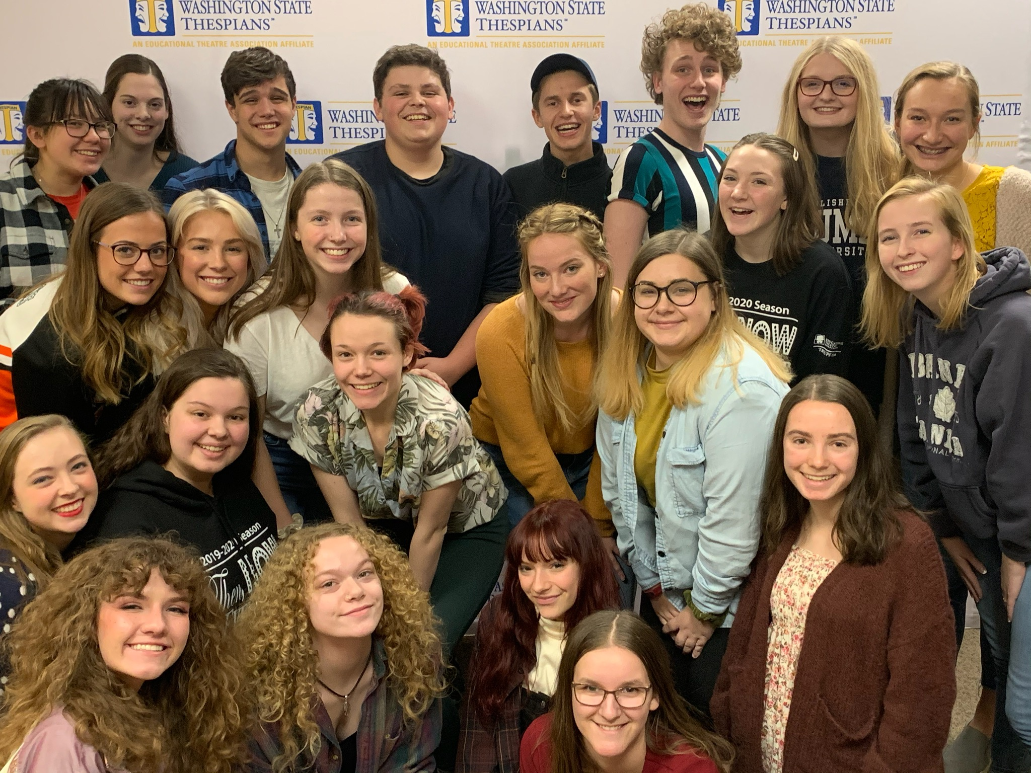 2019-2020 Thespians at INTAF 2019
