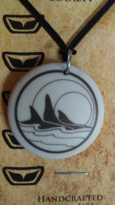 Orca Pendant