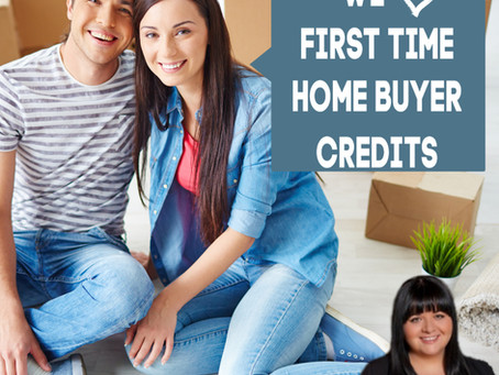 First Time Home Buyer Credits