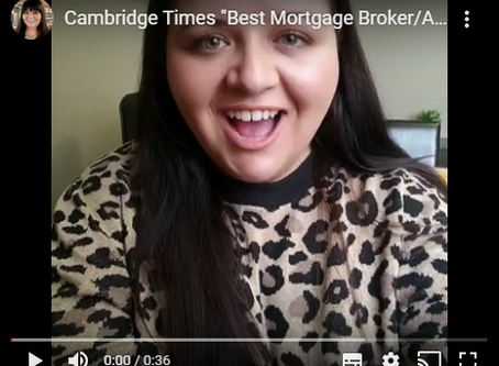 2019 Readers Choice Award Winner for Best Mortgage Broker/Mortgage Agent