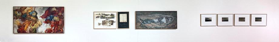 Installation view in Unisa Art Gallery