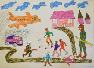 The Journey to Freedom narratives. Police raide aeroplane