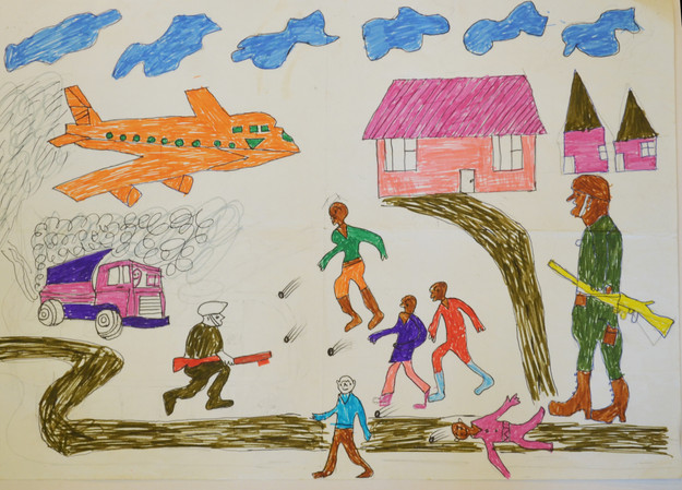 The Journey to Freedom narratives. Police raide aeroplane