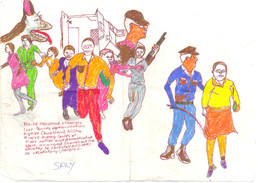 The Journey to Freedom narratives. Police arrest women_D.jpg