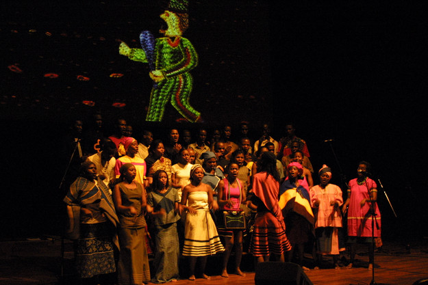 The Journey to Freedom narratives, live performance, Unisa Melodia Chorale