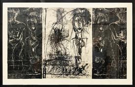 Experimental Lithho print, 1984