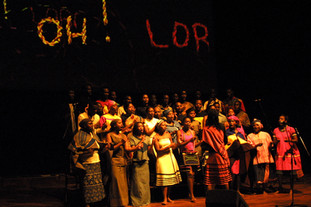 The journey to freedom narratives, live performance, with Unisa Melodia Chorale