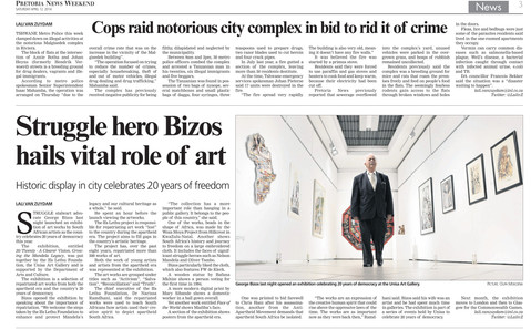 George Bizos article in Pretoria News
