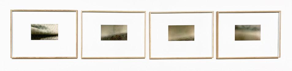 Speak tenderly to my beloved I to IV installation in Unisa Art Gallery. 2019