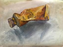 Paint tube. Demo sketch. 2018