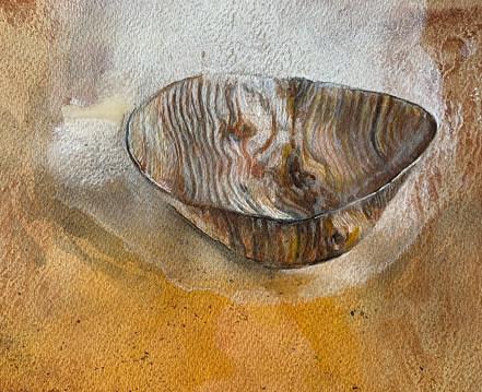 Detail of Matthew's bowl. 2020