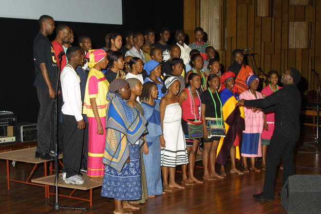 The Journey to Freedom narratives live concert, Unisa Melodia Chorale