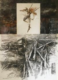 Pine stack. 1991