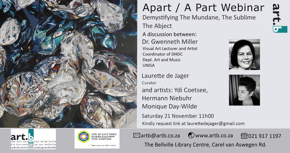 Apart/A Part Webinar ArtB invitation