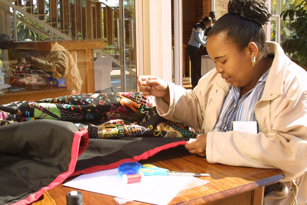 Intuthuko embroiderer Mary Nkabinde