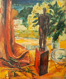 Clay figure, 1993
