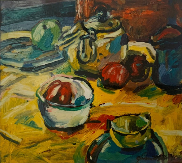 Yellow still life. 1993