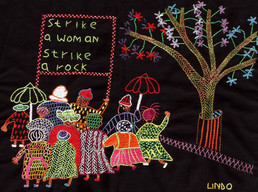 The journey to Freedom narratives. Strike A Woman strike a Rock