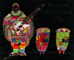 The Journey to Freedom narratives. Musician With Guitar